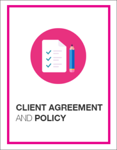 Resource Library ~ Client Agreement and Policy
