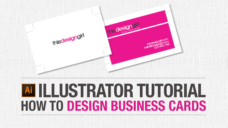 Adobe Illustrator Tutorial: How to Design Business Cards