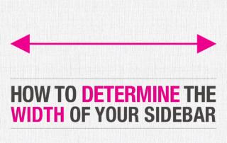 Determine WordPress Sidebar Width