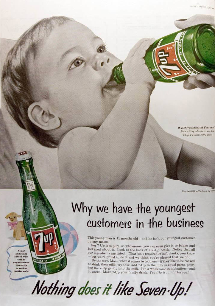 Design 101 - 7Up Vintage Ad