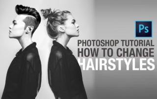 Photoshop Tutorial: How to Change Hairstyles