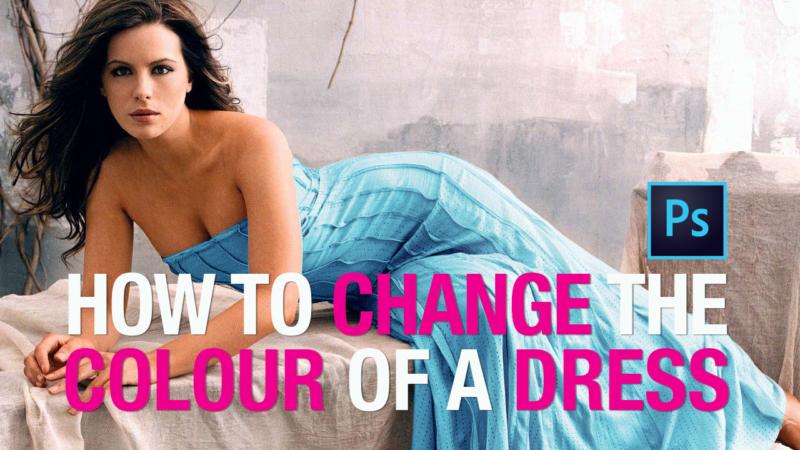 Photoshop Tutorial: How to Change Dress Colour
