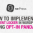 How to Implement a Content Locker in WordPress using Opt-In Panda