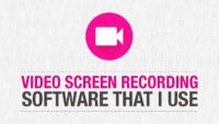 Video Screen Recording Software