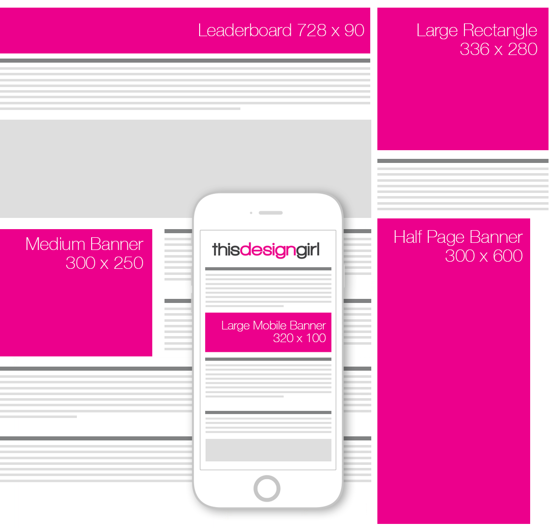 Top 5 Most Effective Web Banner Sizes This Design Girl